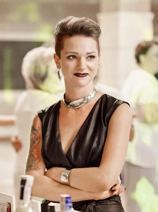 Justyna Kurzelowska tattoo artist owner of Dark Rose Tattoo Birmingham