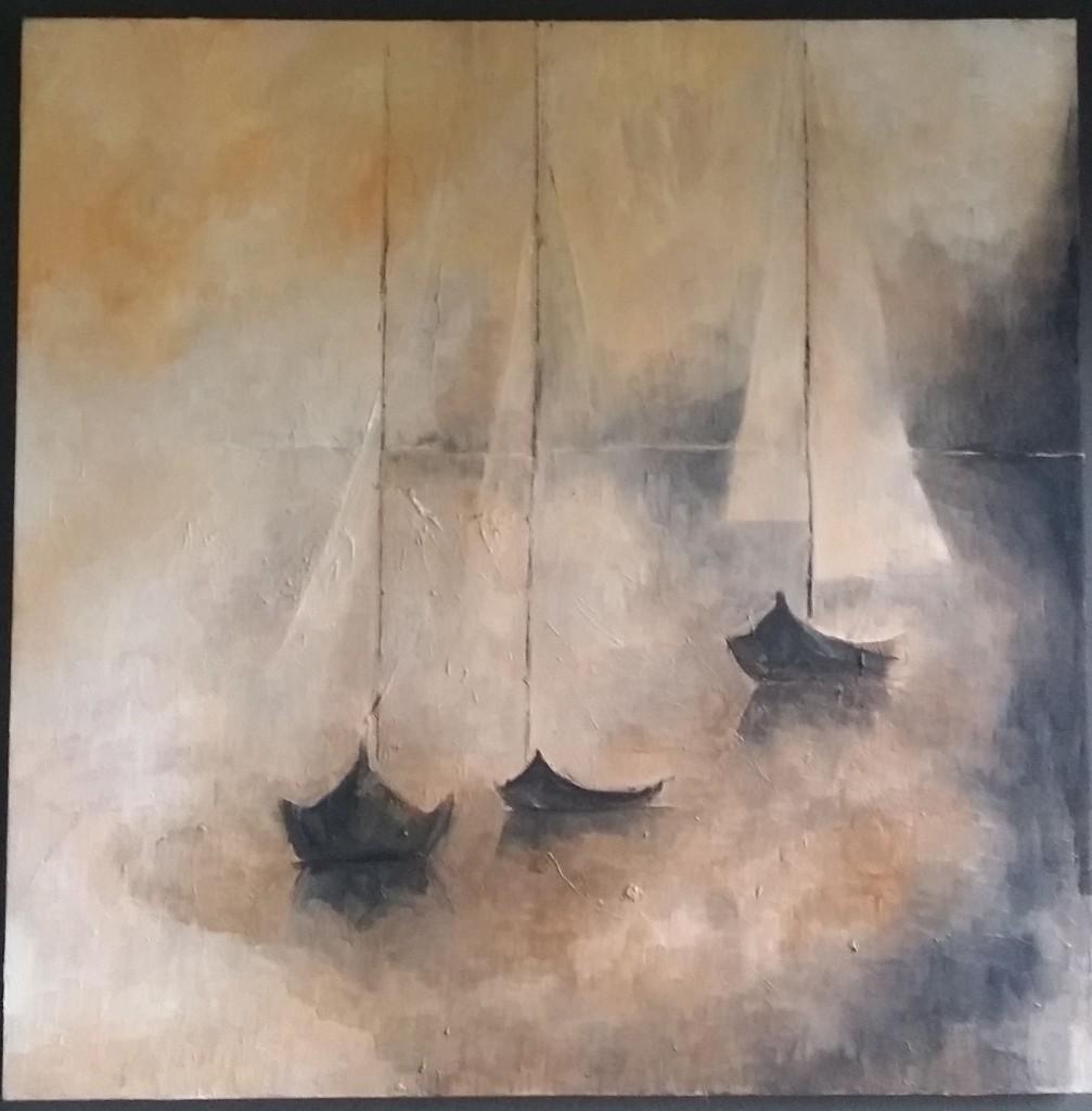 oil on canvas no676 by Aleksandra Wolak