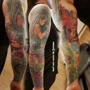 Anne Stokes dragon's tattoo by Justyna. #justynakurzelowska #darkrosetattoo #annestokes