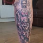 Tattoo done today by #JustynaKurzelowska @darkrosetattoo