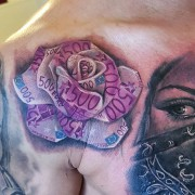 Tattoo by #JustynaKurzelowska @darkrosetattoo