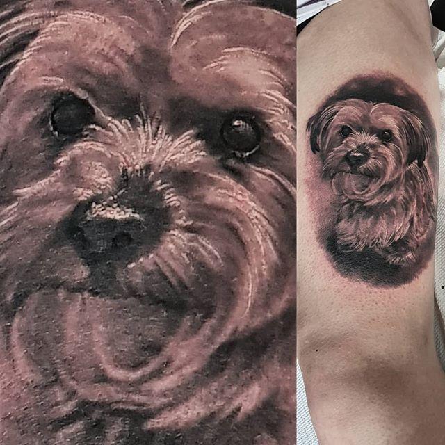 Today's work tattoo by #JustynaKurzelowska @darkrosetattoo